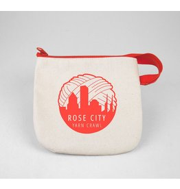 For Yarn's Sake, LLC 2017 Rose City Yarn Crawl Notions Bag *CLEARANCE*