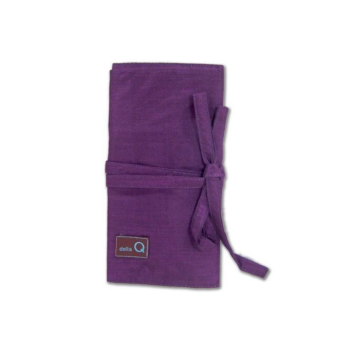 della Q Interchangeable Needle Case, Purple