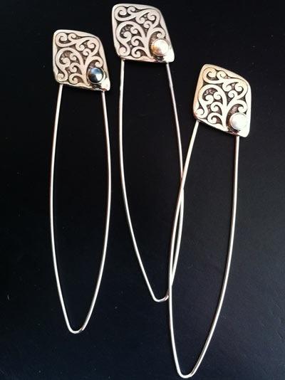 Jul Designs Pearl Tendril Fermoire Clasp