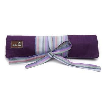 della Q Double Point Needle Roll, Purple