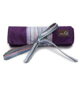 della Q Crochet Hook Roll, Purple