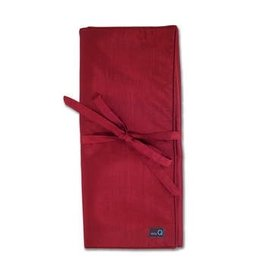 della Q Lily Combination Needle Case, Red