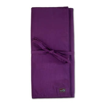della Q Lily Combination Needle Case, Purple