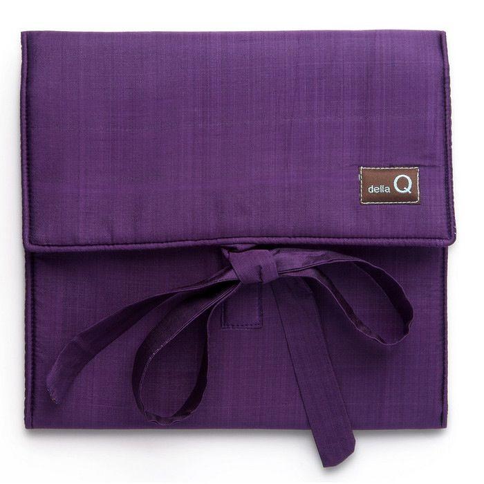 della Q The Que Circular Needle Case - Theo, Purple