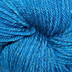 Arctic Qiviut Sock, Glacier Blue