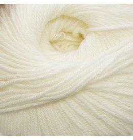 Cascade Yarns S/220 Superwash, White Color 871