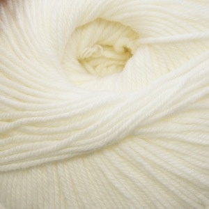 Cascade Yarns S/220 Superwash, White Color 871