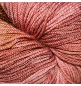 Dragonfly Fibers Djinni Sock, Pink Hydrangea *CLEARANCE*