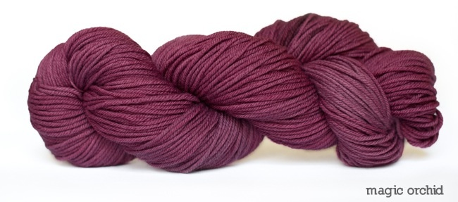 Dream in Color Smooshy with Cashmere, Magic Orchid (Discontinued)