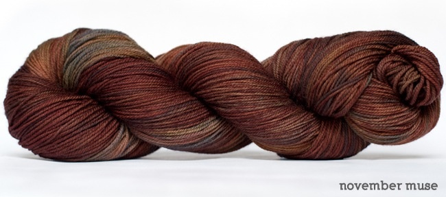 Dream in Color Smooshy with Cashmere, November Muse (Discontinued)