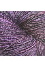 Dragonfly Fibers Djinni Sock, Aubergine *CLEARANCE*