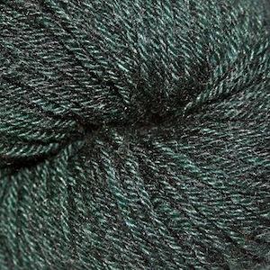 Arctic Qiviut Sock, Evergreen