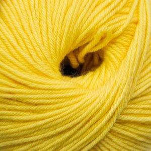 Cascade Yarns S/220 Superwash, Lemon Color 820