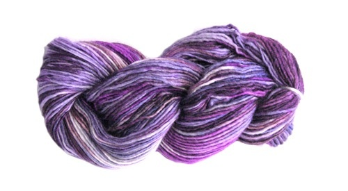 Manos del Uruguay Silk Blend Multi, Violets (Retired)