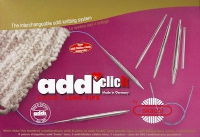addi addi Click Standard Rocket Set (formerly add Lace Long Tip Set)