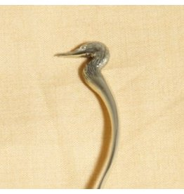 Cormorant Shawl Stick White Bronze - Inca Collection