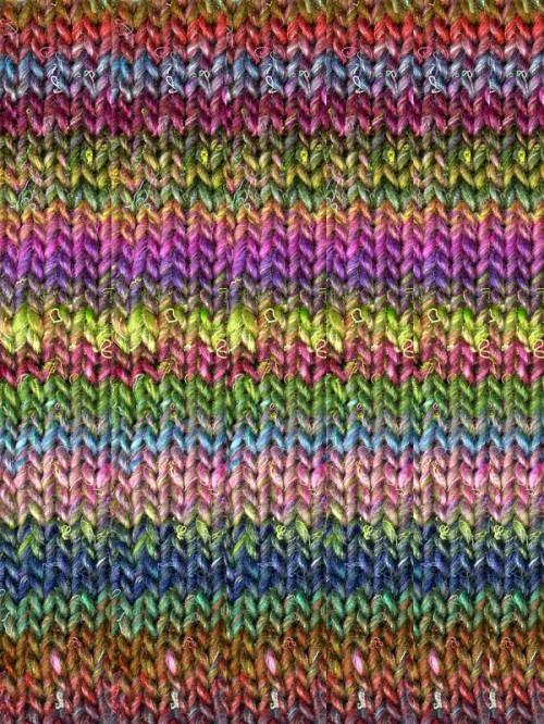 Noro Silk Garden, Rainbow color 87