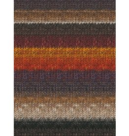Noro Silk Garden Sock, Burnt Orange, Wine, Greys, Taupe color 349