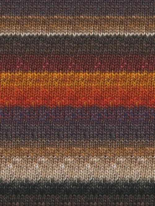 Noro Silk Garden Sock, Burnt Orange, Wine, Greys, Taupe color 349 - For Yarn's Sake LLC