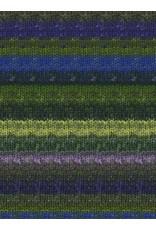 Noro Silk Garden Sock, Yellow, Green, Blue color 354 (Retired)