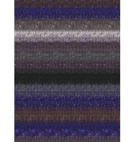 Noro Silk Garden Sock, Grey, Black, Purple color 358 (Discontinued)