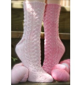 For Yarn's Sake, LLC Nellie's Never Enough Sox Club, Oh Nellie! Petal Pink