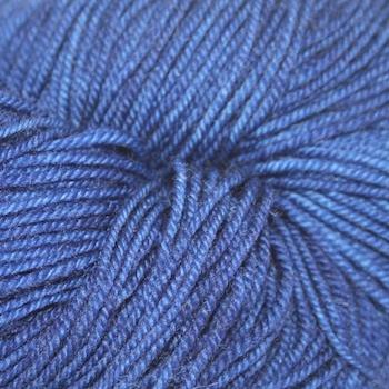 Dragonfly Fibers Djinni Sock, Blue Velvet *CLEARANCE*