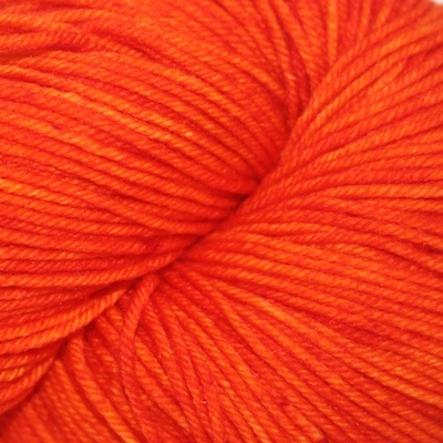 Knitted Wit Sock, Orange