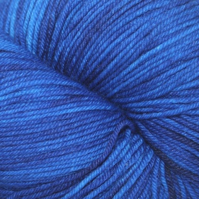 Knitted Wit Sock, Blue