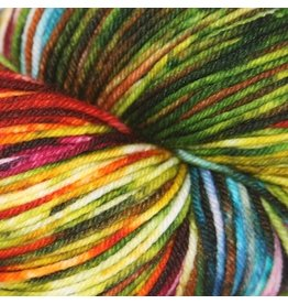Knitted Wit Sock, Autumn Rainbow