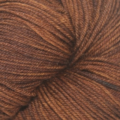 Knitted Wit Victory Sock, Brown Sugar