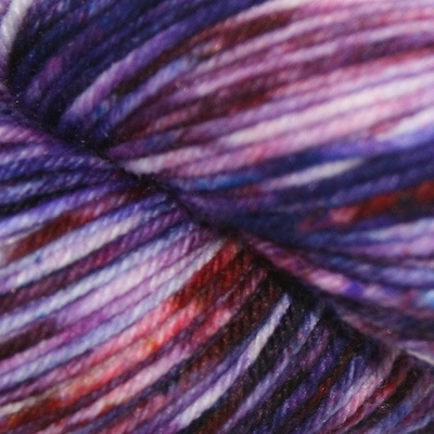 Knitted Wit Sock, Rock Candy Purple