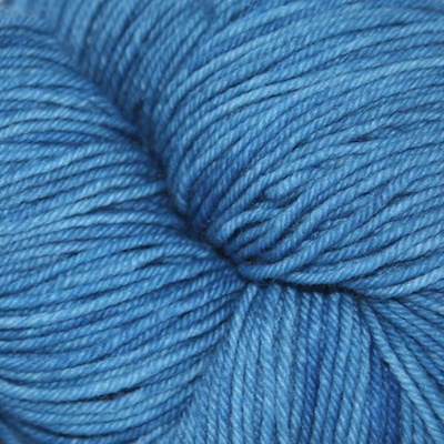 Knitted Wit Sock, Azure