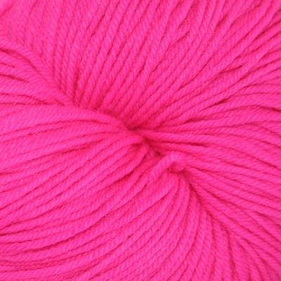 Knitted Wit Sock, Haute Pink