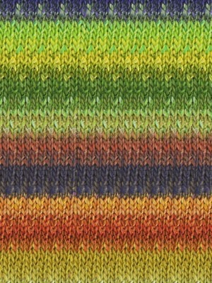 Noro Silk Garden, Lime, Navy, Rust, Gold color 403 (Retired)