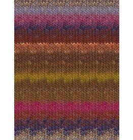 Noro Silk Garden, Browns, Magenta, Purple Color 423