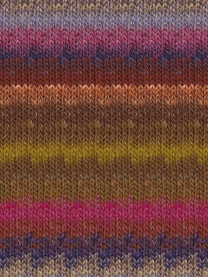 Noro Silk Garden, Browns, Magenta, Purple Color 423 (Retired)