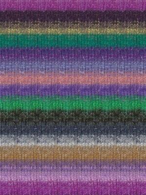 Silk Garden Sock, Purple, Grey, Green Color 420 (Discontinued)