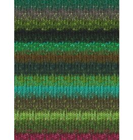 Noro Silk Garden Sock, Greens, Wine color 399