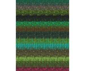 silk mohair yarn Greens-Teal-Wine-Black Noro :Silk Garden Sock #399: