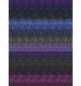 Noro Silk Garden, Purple, Black, Blue, Violet color 395