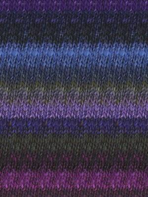 Noro Silk Garden, Purple, Black, Blue, Violet color 395