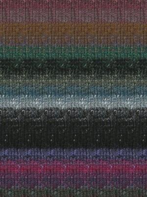 Noro Silk Garden Sock, Black, Mauve, Blue Color 413 - For Yarn's Sake LLC