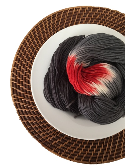 Delicious Yarns Sweets Fingering, Black Cherry *CLEARANCE*