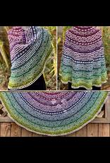 For Yarn's Sake, LLC Half the Knit Sky Shawl Kit, Practical Tactical Brilliance