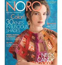 Noro Noro Magazine Issue 10, Spring/Summer 2017 *CLEARANCE*