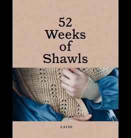 Laine Magazine 52 Weeks of Shawls