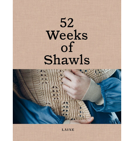 Laine Magazine 52 Weeks of Shawls<br /> **PRE-Order** Release Date April 30, 2021