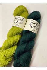 Knitted Wit The ShannaJean Club Year 2, April 2021 - Wavelengthing, Guac and Wicked