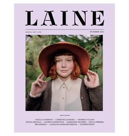 Laine Magazine Laine Issue 11 - Nordic Knit Life, Summer 2021, Marjoram.